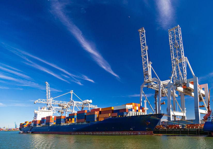 международные морские контейнерные перевозки, грузоперевозки морем